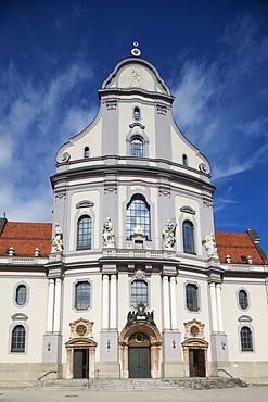 Basilica of St. Anna, Altotting, Upper Bavaria, Germany, Europe