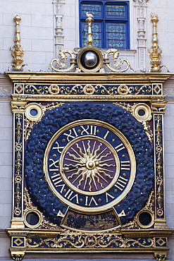The Gros Horloge (The Great Clock), Rouen, Normandy, France, Europe