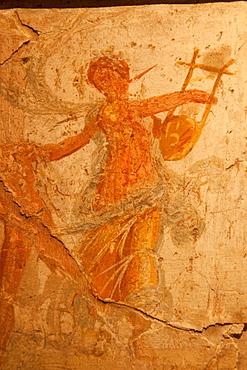 Frieze depicting Bacchic Rites, Palatine Museum, The Palatine, Rome, Lazio, Italy, Europe