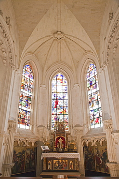 The Chapel, Chaumont Castle, Loir et Cher, Loire Valley, France, Europe