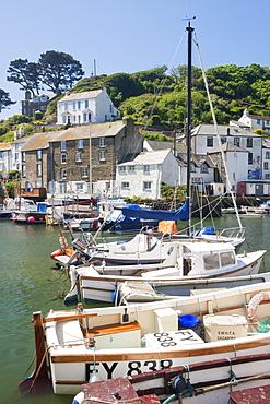 The harbour, Polperro, Cornwall, England, United Kingdom, Europe