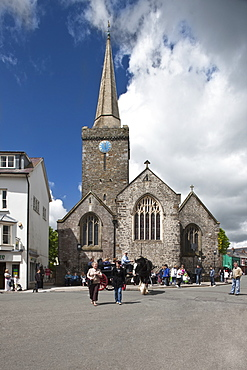 St. Mary's Church, Tenby, Pembrokeshire, Wales, United Kingdom, Europe