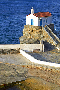 Hora, Andros Island, Cyclades, Greek Islands, Greece, Europe