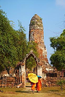 Wat Phra Ram, Ayutthaya Historical Park, UNESCO World Heritage Site, Ayutthaya, Thailand, Southeast Asia, Asia