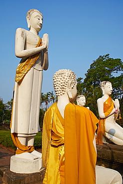 Wat Yai Chai Mongkhon, Ayutthaya Historical Park, UNESCO World Heritage Site, Ayutthaya, Thailand, Southeast Asia, Asia