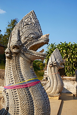 Fortress monastery of Wat Phra That Lampang Luang, Lampang, Thailand, Southeast Asia, Asia