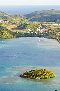 Cul de Sac Du Marin, Martinique, French Overseas Department, Windward Islands, West Indies, Caribbean, Central America