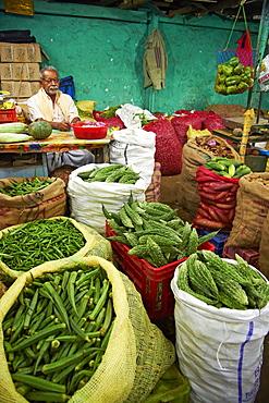 Market, Munnar, Kerala, India, Asia