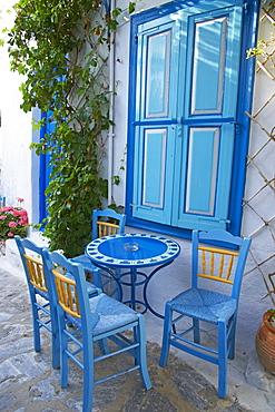 Chora, Amorgos, Cyclades, Aegean, Greek Islands, Greece, Europe - 841-951