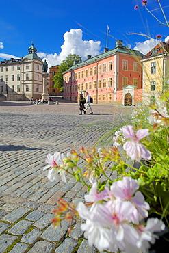 Wrangelska Bracken and Monument, Riddarholmen, Stockholm, Sweden, Scandinavia, Europe