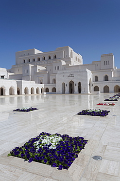 External view of Muscat Opera House, Muscat, Oman, Middle East