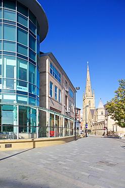 Crucible Corner, Sheffield, South Yorkshire, Yorkshire, England, United Kingdom, Europe