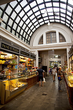 Arcade market, Modena, Emilia Romagna, Italy, Europe