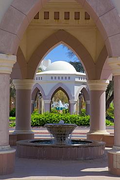 Sheikha Salama Mosque Gardens, Al Ain, Abu Dhabi, United Arab Emirates, Middle East