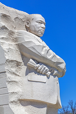 View of the Martin Luther King Jr. Memorial, Washington D.C., United States of America, North America