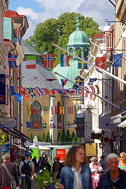 Street scene, Gothenburg, Sweden, Scandinavia, Europe
