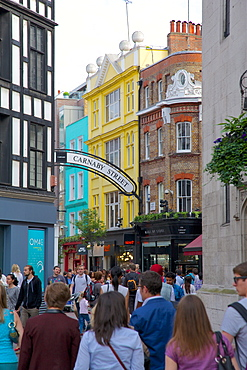 Carnaby Street, London, England, United Kingdom, Europe