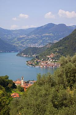 Lake Iseo, Lombardy, Italian Lakes, Italy, Europe