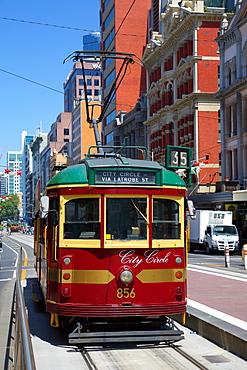 City Circle tram, Melbourne, Victoria, Australia, Pacific