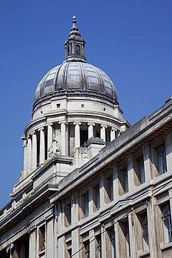 Council House, Nottingham, Nottinghamshire, England, United Kingdom, Europe