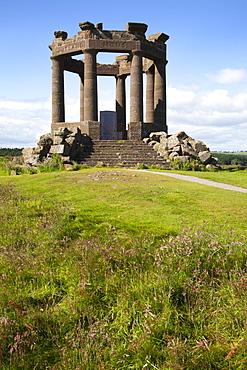War Memorial on the clifftop above Stonehaven, Aberdeenshire, Scotland, United Kingdom, Europe