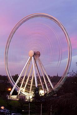 The Wheel of York at sunset, York, Yorkshire, England, United Kingdom, Europe