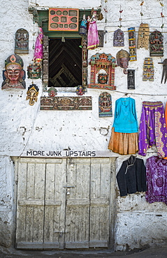 Shopping for souvenirs in Leh, Ladakh, Himalayas, India, Asia