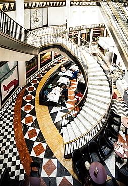 Art Deco interior of Quartier 206 Shopping Centre, Friedrichstrasse, Berlin, Germany, Europe