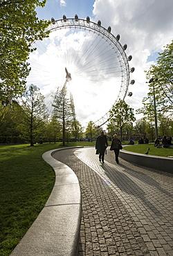 London Eye, South Bank, London, England, United Kingdom, Europe
