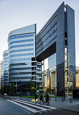 Exterior of W200 Building, Rotterdam, Netherlands, Europe
