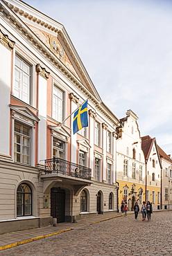 Pikk Street, Old Town, Tallinn, Estonia, Europe