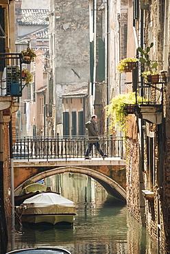 Canal, Venice, UNESCO World Heritage Site, Veneto Province, Italy, Europe