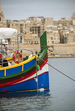 View from Sliema, Valletta, Malta, Europe