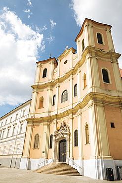 Trinity Church, Old Town, Bratislava, Slovakia, Europe