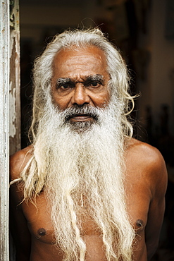 Portrait of Sunil, Galle, South Coast, Sri Lanka, Asia