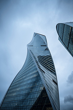 Evolution Tower, Moscow International Business Centre, Moscow, Moscow Oblast, Russia, Europe