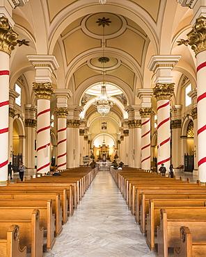 Interior of National Cathedral, Bolivar Square, La Candelaria, Bogota, Cundinamarca, Colombia, South America
