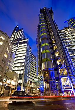 Lloyds Building, City of London, London, England, United Kingdom, Europe