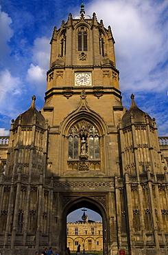 Christchurch College, Oxford University, Oxford, Oxfordshire, England, United Kingdom, Europe