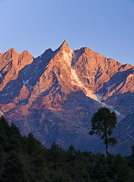 Gonglha, 5813 metres, Solu Khumbu Region, Nepal, Himalayas, Asia