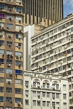 Architecture in central Rio de Janeiro, Brazil, South America