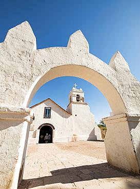 Iglesia de San Pedro, San Pedro de Atacama, Atacama Desert, El Norte Grande, Chile, South America