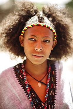 Portrait of Brtukan, Lalibela, Ethiopia, Africa
