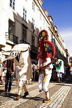 International Festival Iberian Mask, Lisbon, Portugal, Europe
