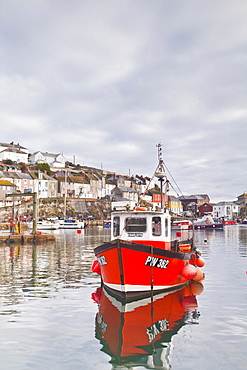 The small fishing village of Mevagissey in Cornwall, England, United Kingdom, Europe
