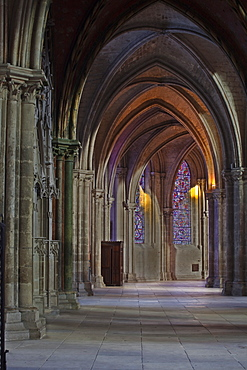 The cathedral of Saint Etienne, UNESCO World Heritage Site, Bourges, Cher, Centre, France, Europe