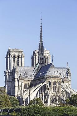 Notre Dame de Paris Cathedral, Paris, France, Europe