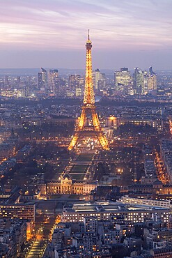 The Eiffel Tower, Paris, France, Europe