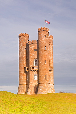 The Broadway Tower on the edge of the Cotswolds, Worcestershire, England, United Kingdom, Europe