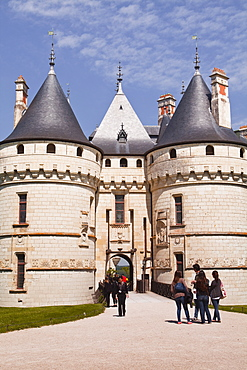 The renaissance chateau at Chaumont-sur-Loire, UNESCO World Heritage Site, Loire Valley, Loir-et-Cher, Centre, France, Europe